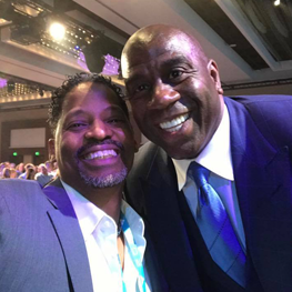 Magic Johnson : Community Leader, Entrepreneur and 5-time NBA Champion